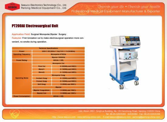 China Surgical Instrument Bipolar Electrosurgical Unit PT200ai