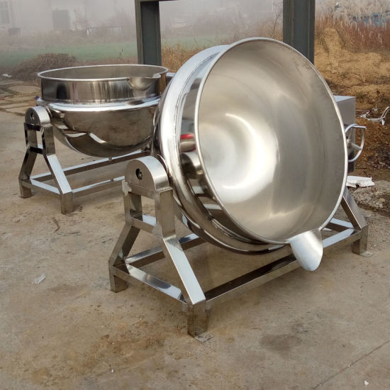 Vertical Chocolate Jacketed Kettle for Cooking