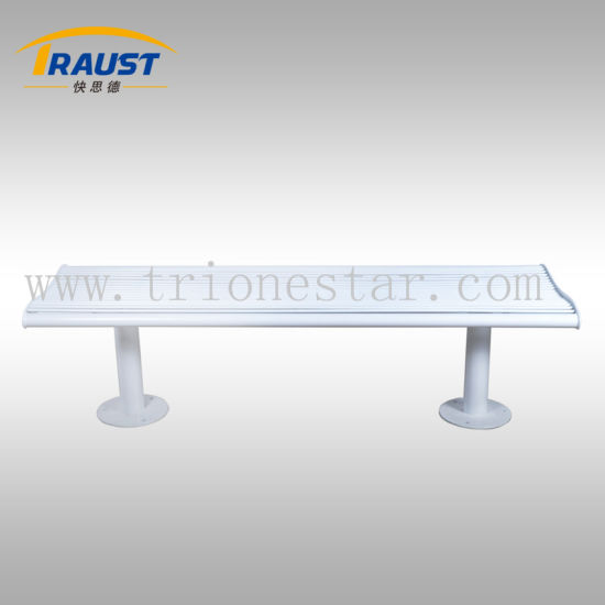Outdoor Backless Metal Park Bench/Garden Bench for Sale