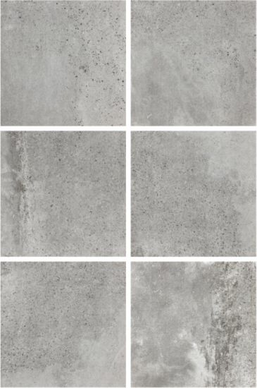 China 600x600mm Grey Color Cement Rustic Tile Anti Slip Flooring