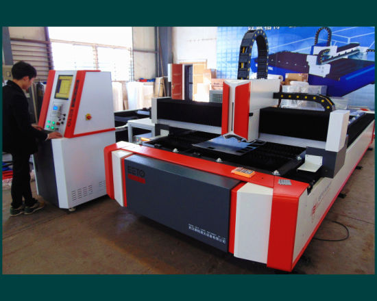 500~1500W Open-Type Fiber Laser Cutting Machine pictures & photos