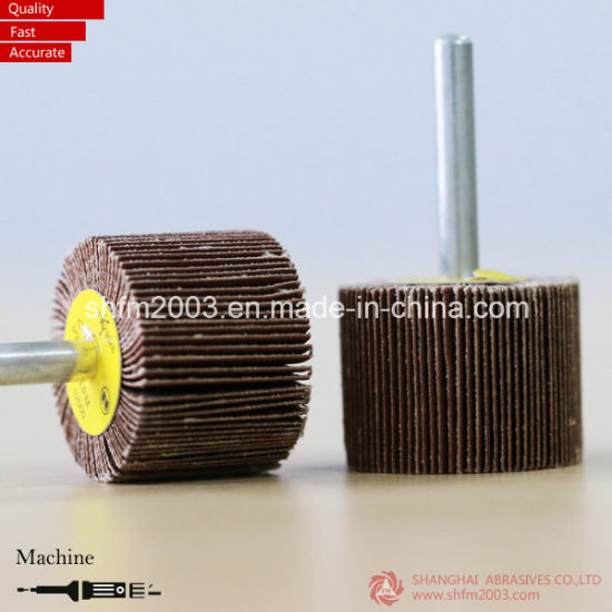 30*25mm, P60 Klingspor Aluminum Oxide Flap Wheel with Shank pictures & photos