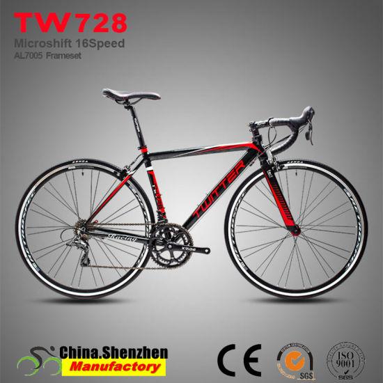 16speed Aluminum Frame 700c Wheel City Road Bicycle