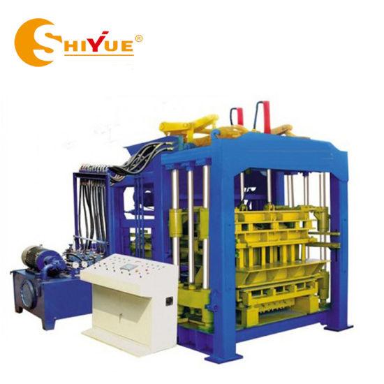 Qt8-15 Cheaper Automatic Cement Sand Concrete Hollow Brick/Block Making Machine