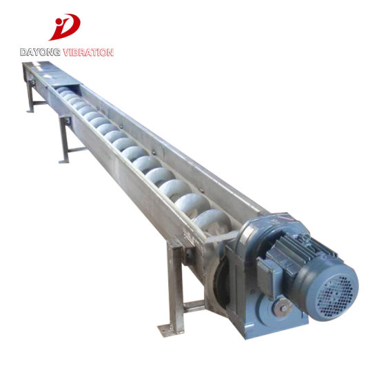 China Flexible Hose Pipe Auger Screw Elevating Grain Conveyor for