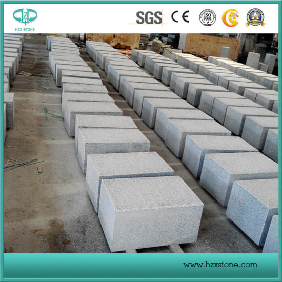 Chinese Cheap Light and Dark Grey Padang Dark Granite Curbs/Kerbstone/Kerb/Curbstone/Road Kerbs pictures & photos