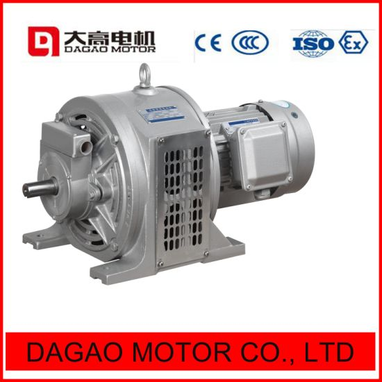 Yct Series Speed Adjust AC Electric Motor 0.55kw to 90kw pictures & photos