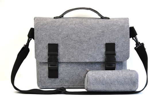 Felt Computer Laptop Notebook Tablet Bags Sleeve for Promotion