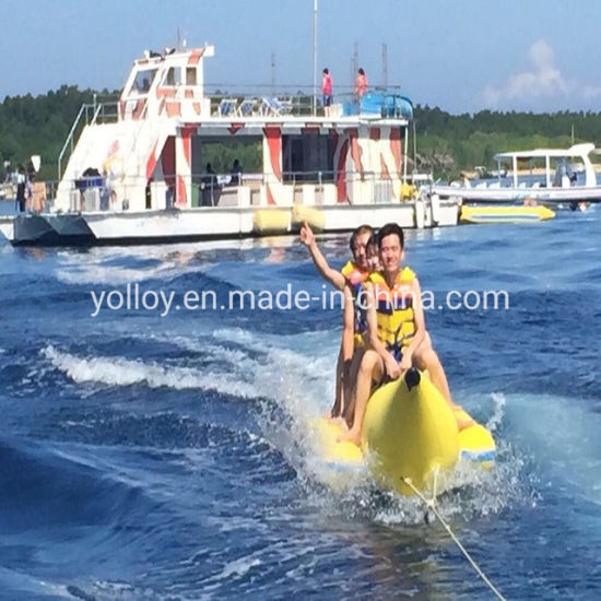 Factory Customized Inflatable Banana Boat for Amusement Park Water Games pictures & photos