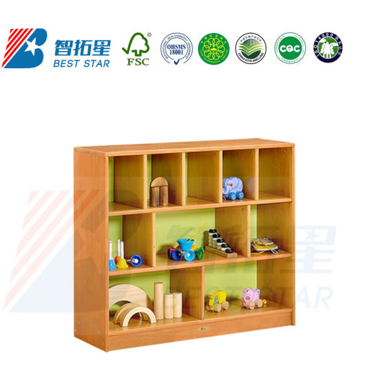 Day Care Furniture Cabinet, Play Furniture Toy Wood Cabinet, Preschool and Kindergarten Nursery School Kids Cabinet, Room Bookshelf and Side or Corner Cabinet