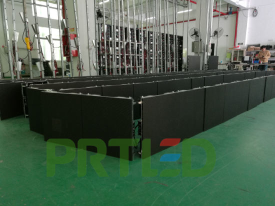Front/Back Access Indoor/Outdoor LED Video Wall with 500*500mm Panel (P3.91, P4.81) pictures & photos