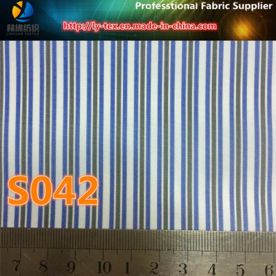 Men Suit Lining in Polyester Woven Textile Twill Stripe Fabric (S42.46)