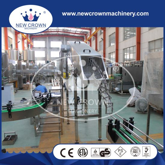 Linear Type Aluminum Pop Can Filling and Seaming Machine for Beer and Soft Drinks pictures & photos