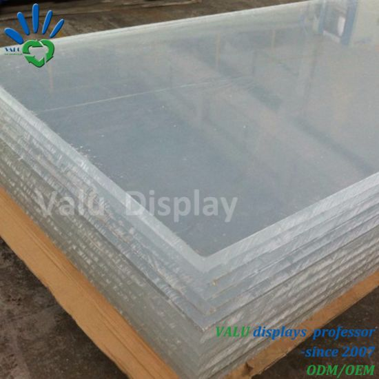 china 2 20mm clear acrylic sheets for large acrylic fish tank