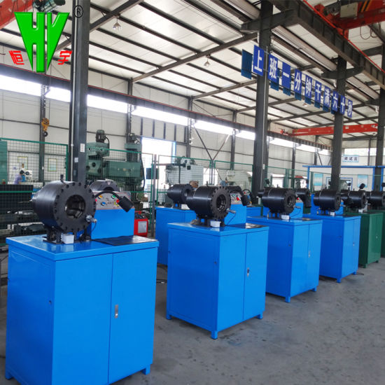 China Machine to Make Hydraulic Hose Crimping Machine Dx68
