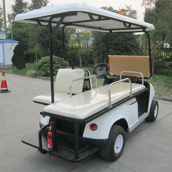 CE Approved 2 Seats Electric Ambulance Car (DVJH-2) pictures & photos