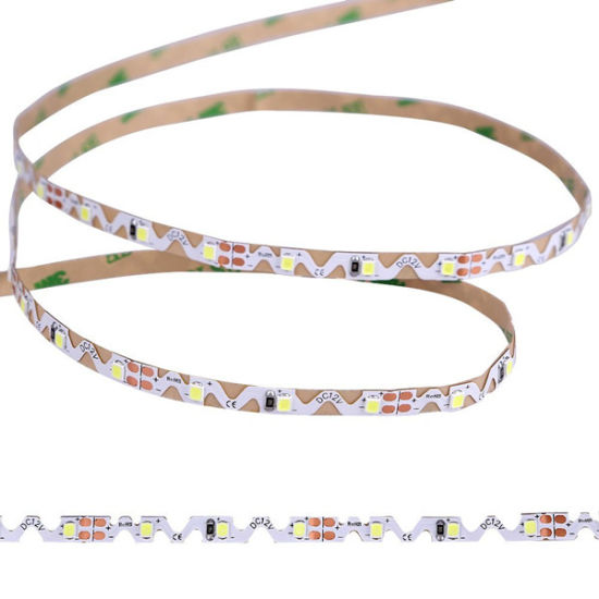 S Shape Bendable 2835 High CRI LED Strip Flexible Light pictures & photos
