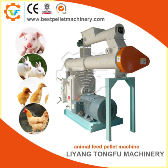 Poultry/Cattle/Chicken Pelletizing Granulation Feed Pellet Mill Equipment