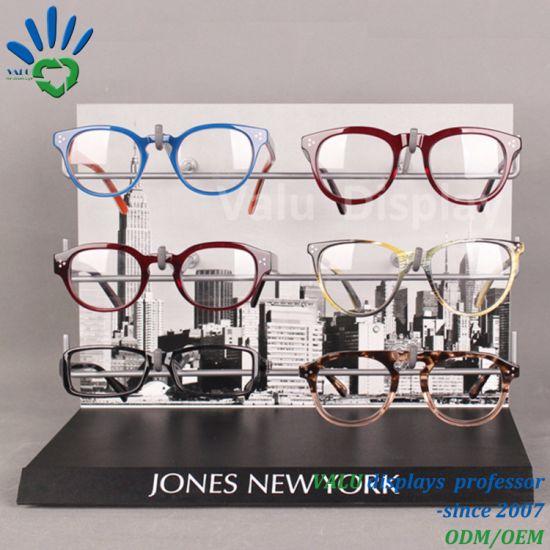 a373cee289e2 China Customized Eyeglasses Holder Acrylic PVC Sunglasses Display ...