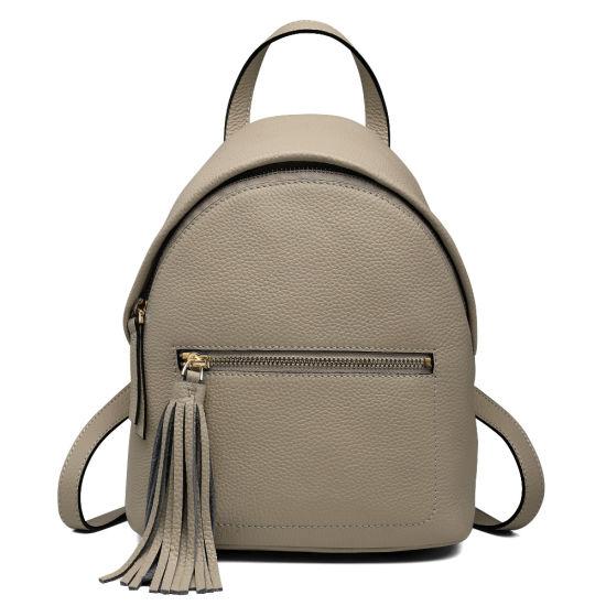 OEM Genuine Leather School Bag Fashion Backpack