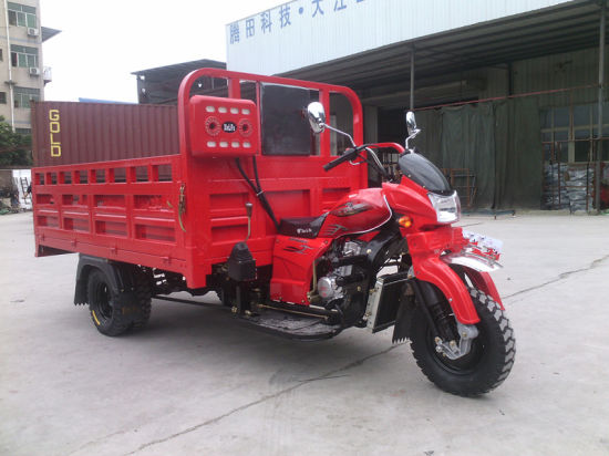 300cc Lifan Engine Heavy Carrying Three Wheeled Cargo Tricycle pictures & photos