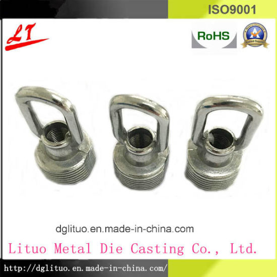 Zinc Alloy Die Casting LED Lighting Crystal Hanging Ring Part pictures & photos