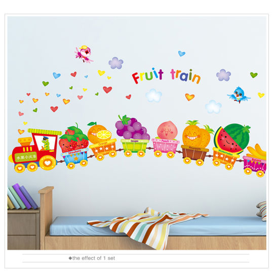 china kids cartoon wall sticker children room nursery school