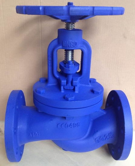 DIN PN16 Cast iron GG25 manual type globe valve