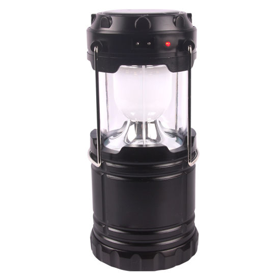 Cheap Foldable Waterproof Portable Solar LED Camping Light pictures & photos