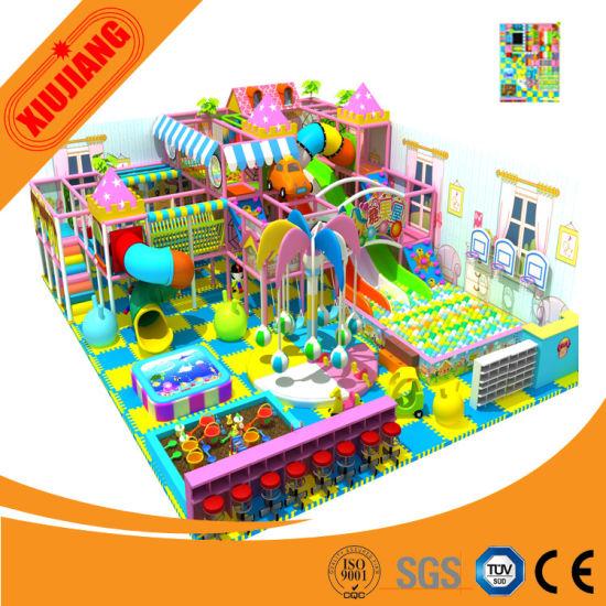 Amusement Park Kids Large Items Indoor Soft Play Equipment