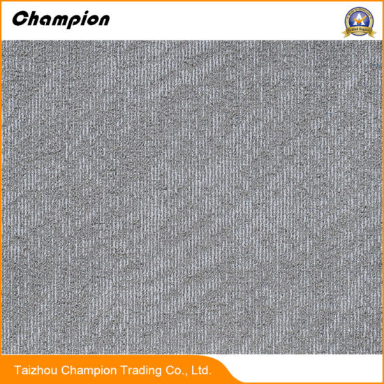 China Hf Office Hotel Home Flooring Carpet Tile Modular Carpet Tiles