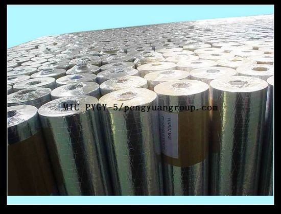 Thermal Insulation Triple-Way Aluminium Foil Scrim Kraft pictures & photos