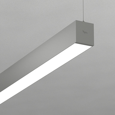 China Office Led Hanging Linear Light With Seamless