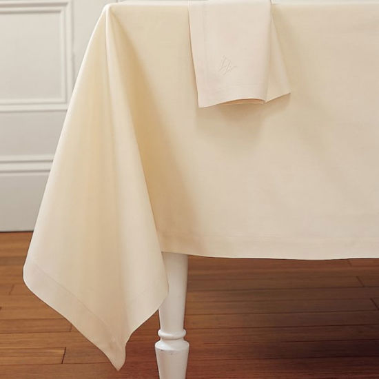 100% Cotton/Panel Design/Hotel/Home/Wedding Tablecloth pictures & photos