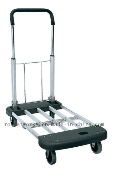 Foldable Aluminium Platform Hand Trolley (HT140)