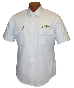 Solid Color Security Short Sleeve Pilot Shirt for Men pictures & photos