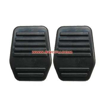 OEM Mold Flat Auto Car Brake Pedal Pad / Pedal Protective Rubber Cover