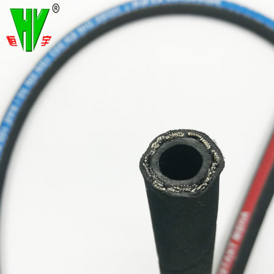 Professional Hydraulic Hose Manufacturer Supply Steel Wire Braid OEM Rubber Hoses SAE100 R17