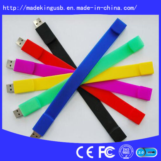 Wristband USB Flash Drive, Bracelet USB Flash Drives pictures & photos