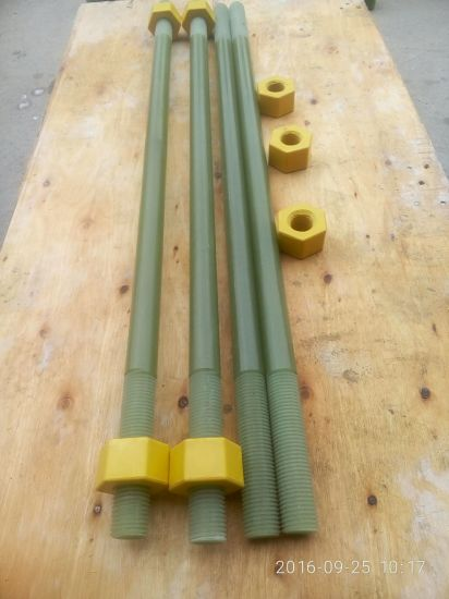 High Strength FRP Epoxy Insulation Bolt and Nut