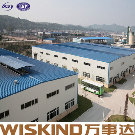 China Easy Installation Welded H Structural Steel Frame Building ...