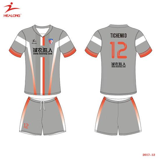 306da5a57 Healong Fashion Design Sportswear Sublimation Printing Football Jersey  pictures   photos