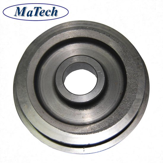 Precisely Ductile Iron Casting Grooved Pulley Wheel