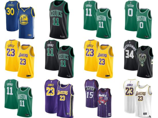 d297d316ecd Top Seller 2018 19 Fast Break Replica Swingman Icon Edition Basketball  Jerseys