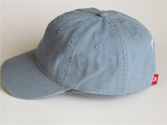 2eedebbd34251 Hot Selling Distressed Cap Cotton Stone Washed Baseball Cap Distressed Dad  Hat Custom 6 Panel Unstructured Baseball Cap Hat