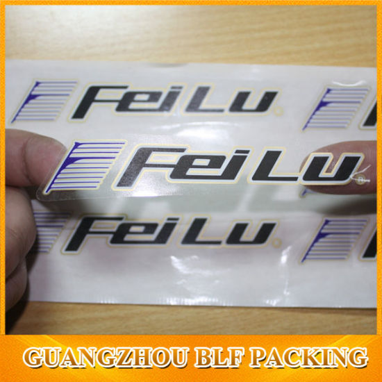 Full Color Printing Clear Plastic Labels