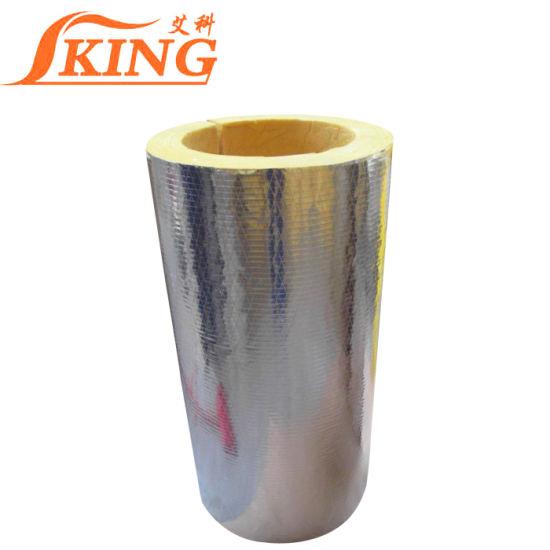 Duct Insulation Fiberglass Wool Pipe
