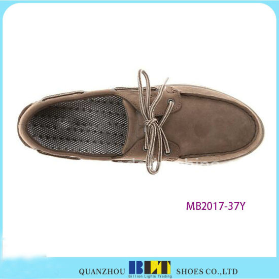 Hot Top Comfort Causal Boat Shoes pictures & photos