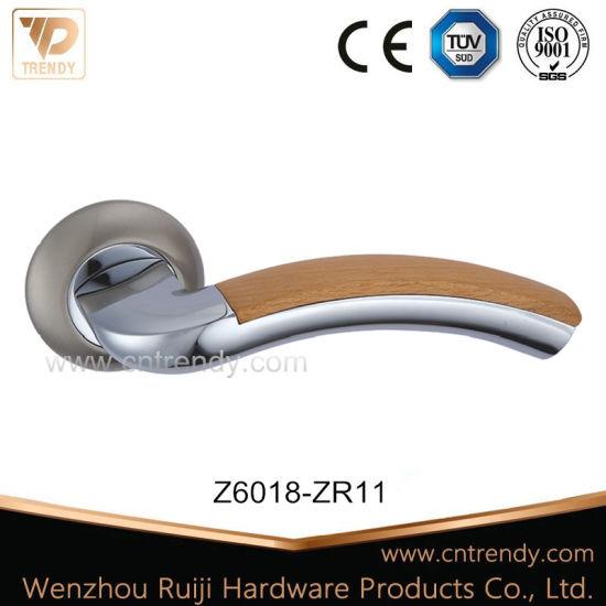 Modern Fold Type Zinc Alloy Door Handle on Round Rose (Z6018-ZR11)  sc 1 st  Wenzhou Ruiji Hardware Products Co. Ltd. & China Modern Fold Type Zinc Alloy Door Handle on Round Rose (Z6018 ...
