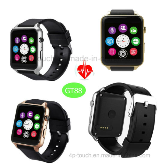 Mtk2502c System Bluetooth 4 0 Smart Watch with Heart Rate Gt88
